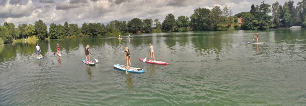 Stand-up-Paddling 2